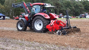 Subsoiler SCD with twin roller with waved discs