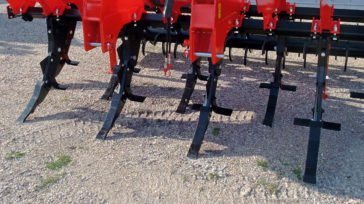 Subsoiler SSDR-XL aggressive tines with cutting knives